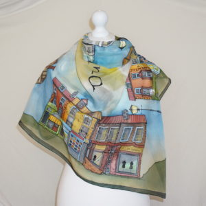 Handpainted Scarves